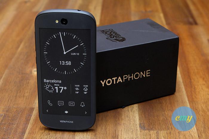 Yotaphone 2, movil y ebook en un único dispositivo, analisis, precio, opinión, ideal para leer