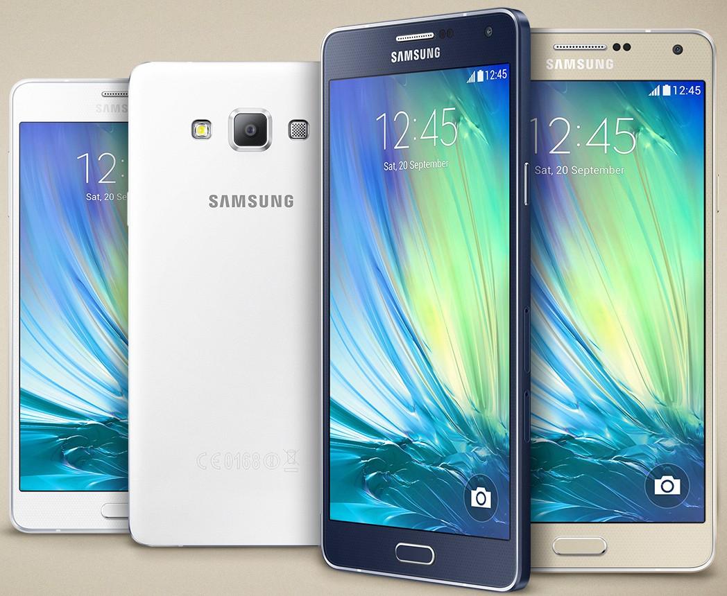 Samsung Galaxy A7 libre, precio, análisis, características, el más delgado, cuerpo metálico
