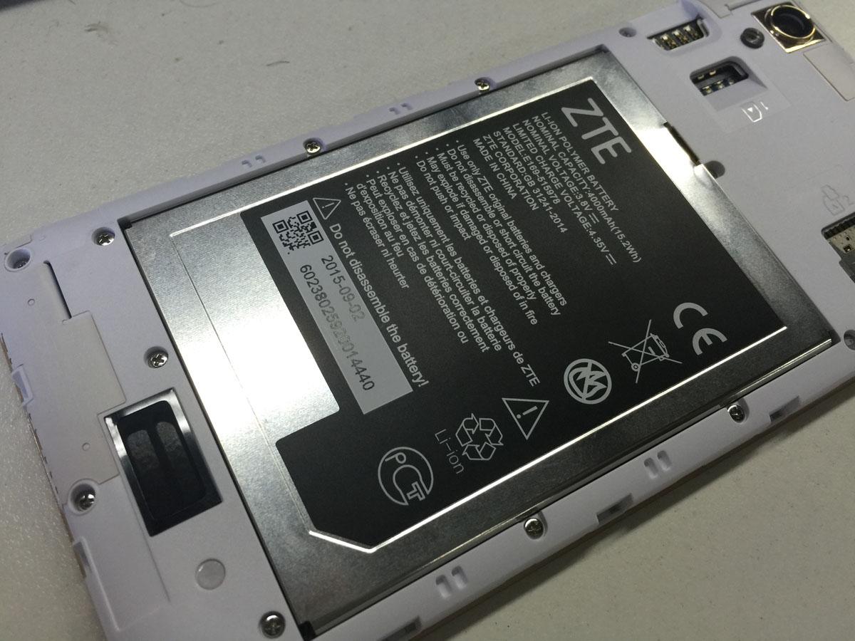 Batería del ZTE Blade A452