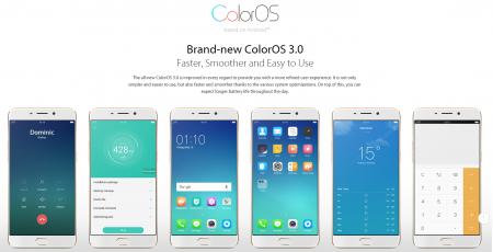 Interfaz ColorOS 3.0 en el Oppo F1 Plus