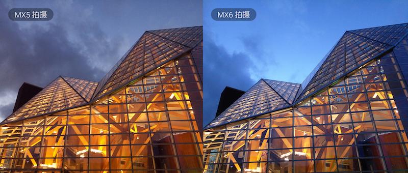 Cámara del Meizu MX5 vs MX6