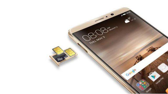 Ranura dual SIM / microSD del Mate 9