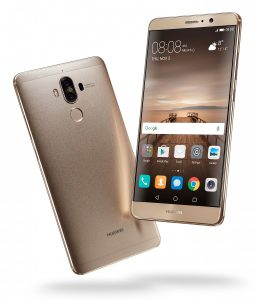 Frontal y trasera del Huawei Mate 9