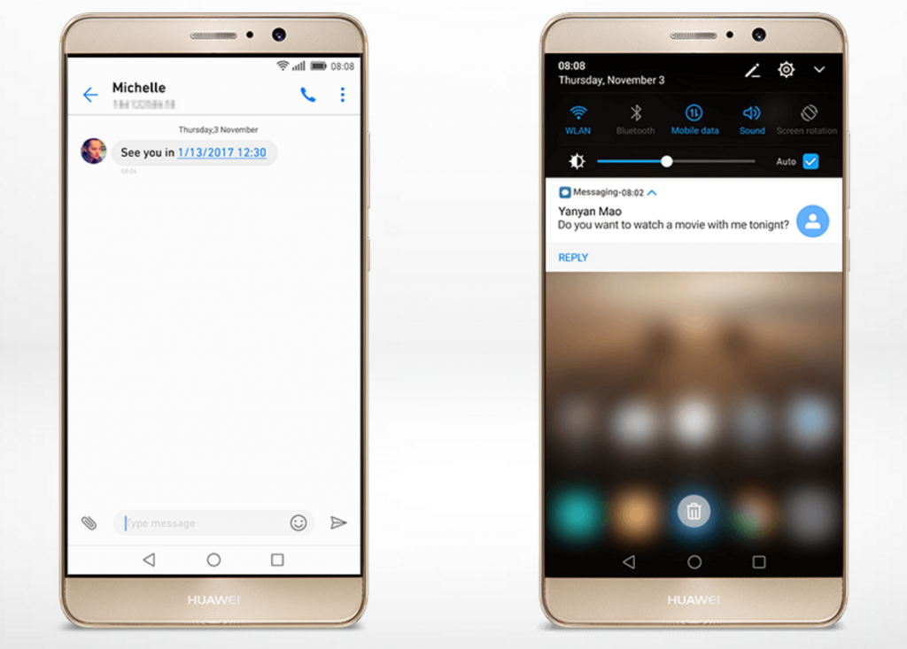 EMUI 5.0 en el Huawei Mate 9