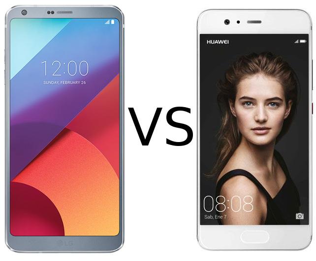 Comparativa LG G6 vs Huawei P10, los mejores móviles gama alta de inicio de 2017, análisis, características, precio, cual comprar