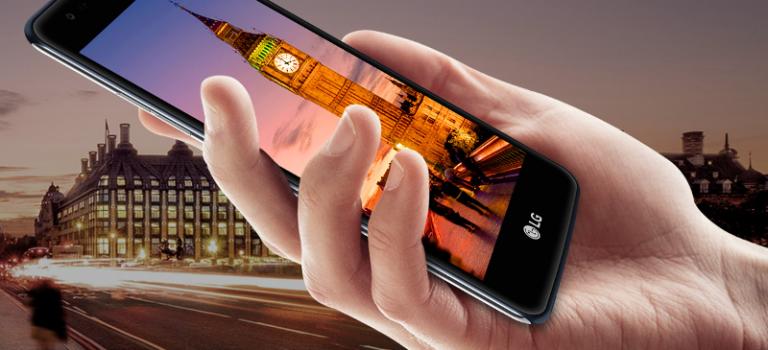 LG K8 2017 precio en España, características, opiniones, analisis, libre, barato, sensor de huellas dactilares