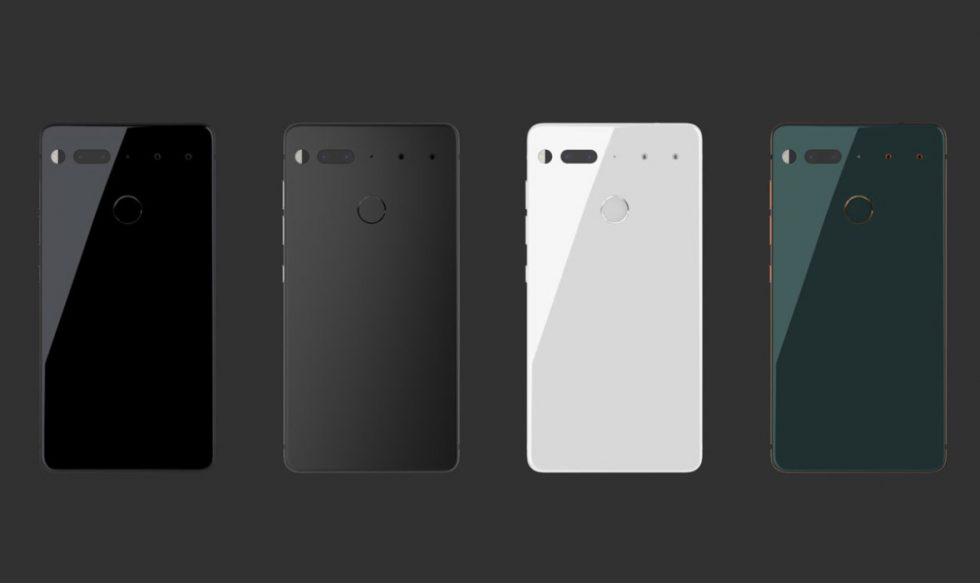 Colores del Essential Phone