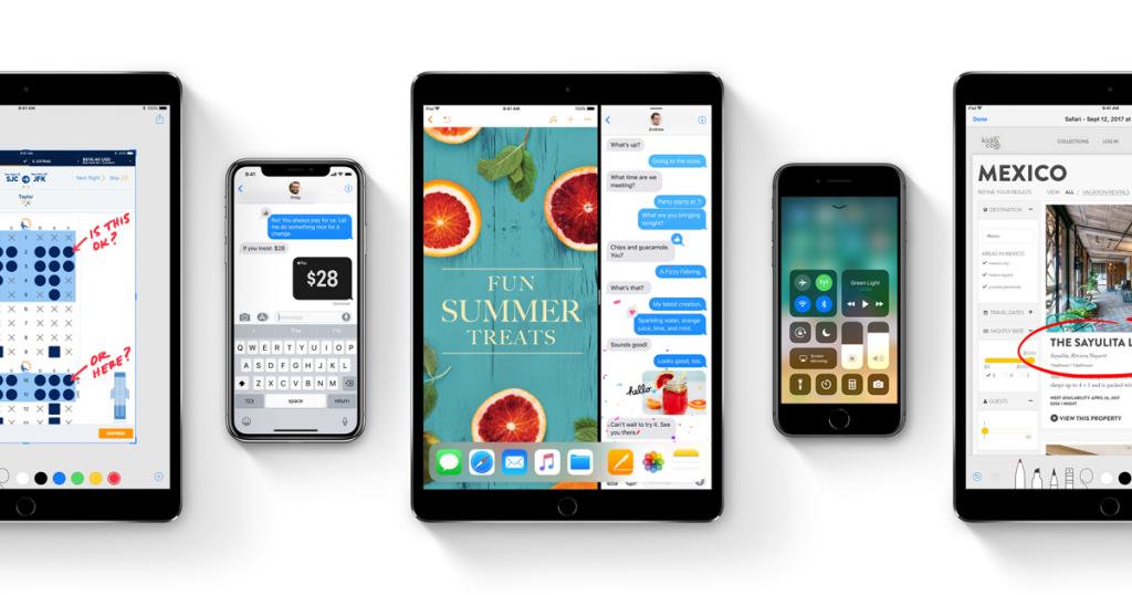 iOS 11 en el iPhone X, iPad y iPhone 8 Plus
