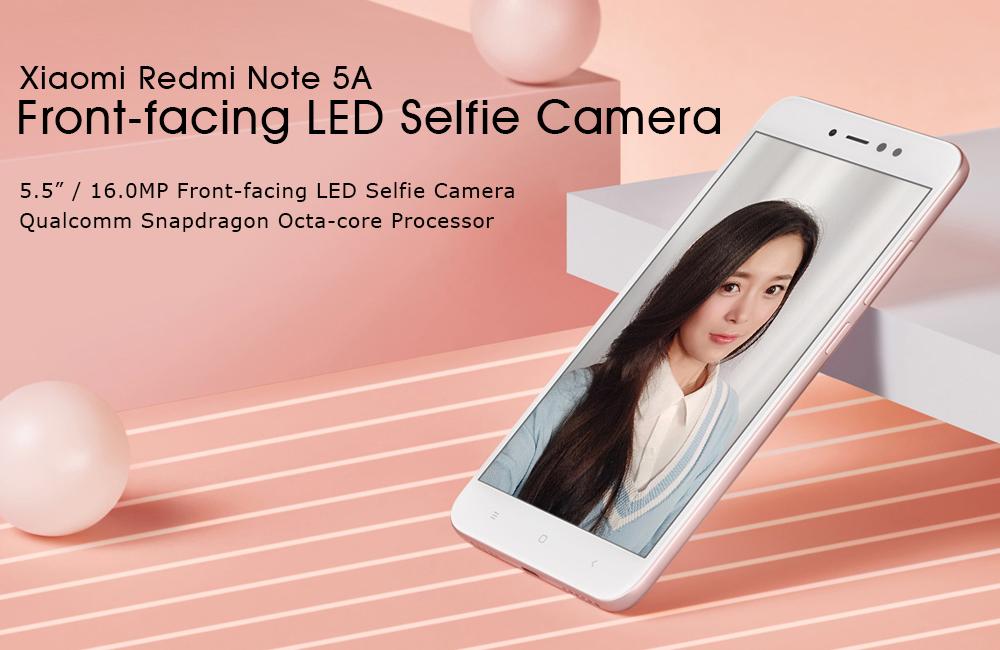 Cámara frontal del Xiaomi Redmi Note 5A