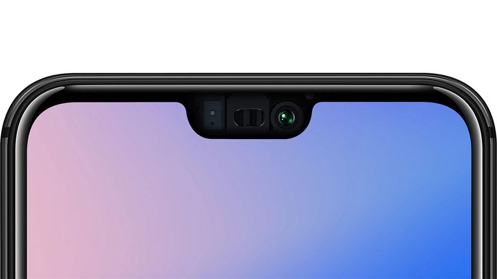 Cámara frontal en el Huawei P20 Lite