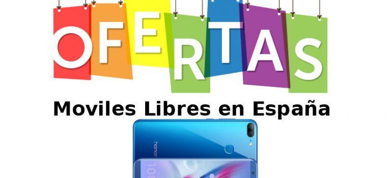 Mejores ofertas de moviles libres de España en Amazon, Phonehouse, Fnac, Mediamarkt, Pccomponentes y Gearbest