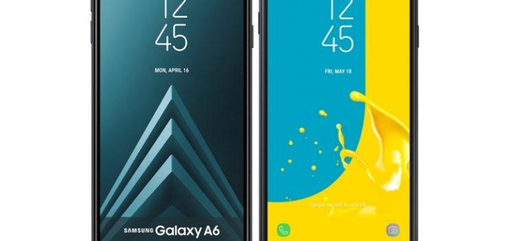 Samsung Galaxy J6 vs Samsung Galaxy A6, precio, diferencias, comparativa, cual es mejor comprar, camara, pantalla, batería, memoria