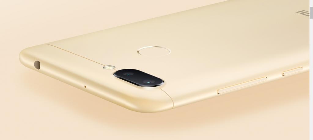 Cámara dual trasera del Xiaomi Redmi 6