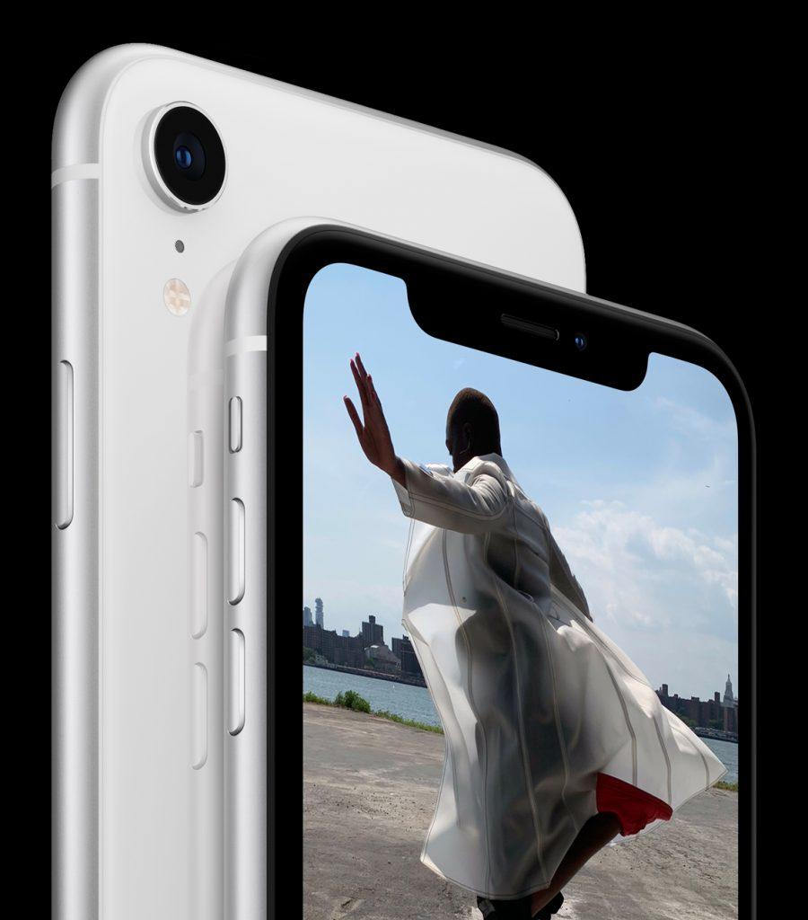 Cámara trasera del iPhone XR | Imagen: Apple