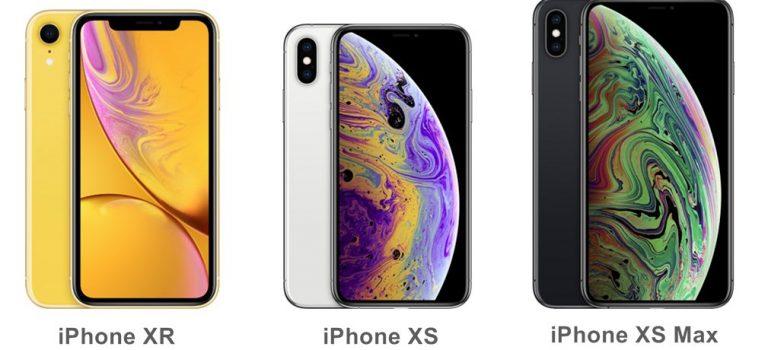iPhone XS vs iPhone XR, cual comprar, comparativa de características, diseño y precios, diferencias en pantalla, cámara, batería