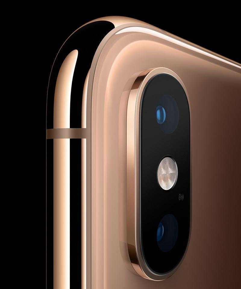 Cámara dual del iPhone XS | Imagen: Apple