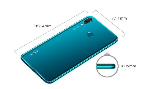 Dimensiones del Huawei Y9 2019