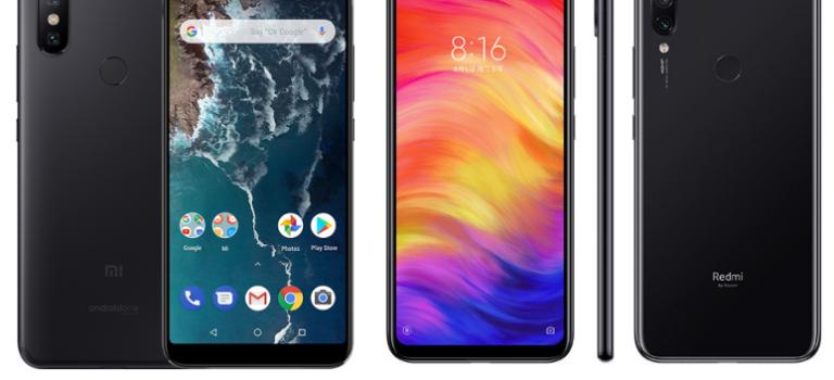 Redmi Note 7 vs Xiaomi Mi A2, comparativa, precios, características, diferencias, opiniones, cual es mejor comprar
