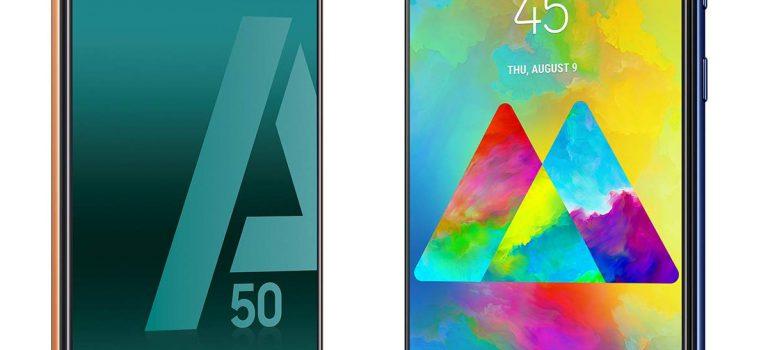 Samsung Galaxy A50 vs Samsung Galaxy M20, comparativa, diferencias, precio, opiniones, características, cámara, batería, pantalla