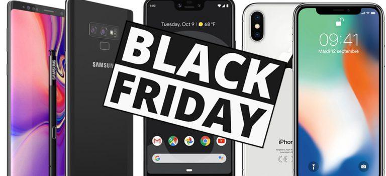 Ofertas móviles black friday 2019, modelos más recomendados del año en Amazon, PCComponentes, Phonehouse, Fnac