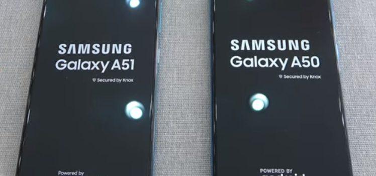 Samsung A51 vs Samsung A50 diferencias, comparativa, precio, pantalla, batería, cámaras, procesador, rendimiento, características