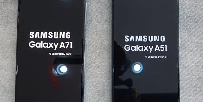 Samsung A51 vs Samsung A71 comparativa, precio, opinión, diferencias en pantalla, cámara, batería, procesador y diseño, características