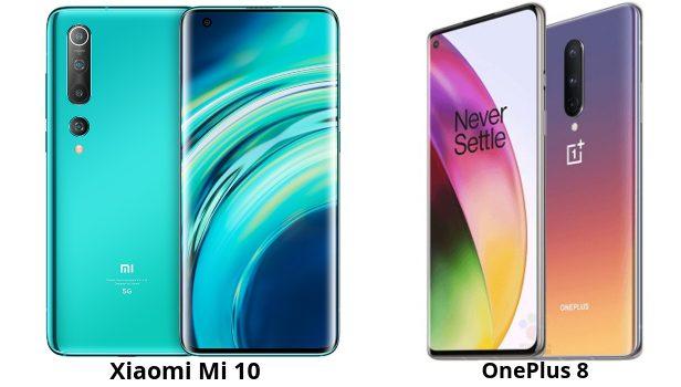 OnePlus 8 vs Xiaomi Mi 10 comparativa, diferencias, opiniones de pantalla, batería, cámara, rendimiento