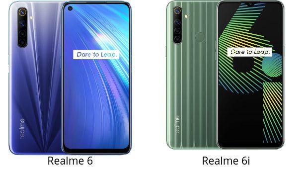 Realme 6 vs 6i comparativa, opinion, diferencias en pantalla, batería, cámara, procesador, diseño, precio
