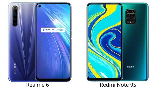 Realme 6 vs Redmi Note 9S comparativa, diferencias, opinion de la pantalla, camara, batería, procesador y precio