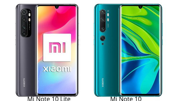 Xiaomi Mi Note 10 Lite vs Mi Note 10 comparativa, precio, opinión, diferencias, cámara, pantalla, batería, procesador, características