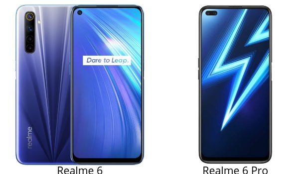 Realme 6 vs 6 Pro, comparativa, opinión, precio, diferencias en pantalla, batería, procesador, cámara, 5G y características