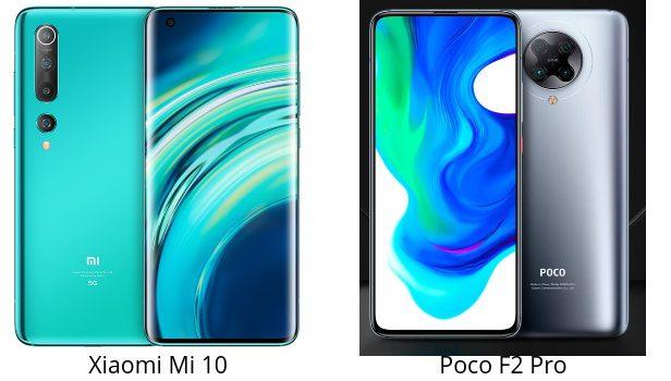 Xiaomi Mi 10 vs Poco F2 Pro, comparativa, opinión, precio, diferencias en pantalla, cámara, batería, procesador, conectividad
