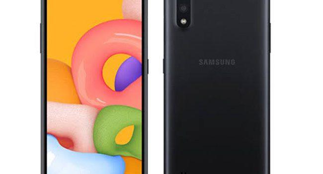 Movil Samsung más barato de 2020, modelo gama baja sencillo, Samsung M01 precio desde 109 euros, opinión, alternativas