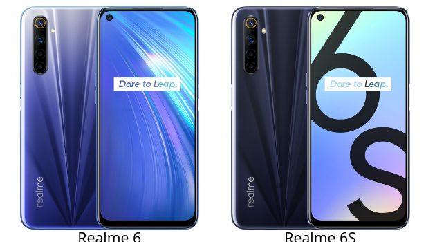 Realme 6 vs Realme 6s comparativa, precio, opiniones, diferencias en pantalla, procesador, batería, cámara y rendimiento