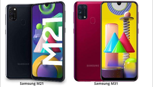 Samsung M21 vs M31 comparativa, precio, diferencias en pantalla, procesador, batería, cámara