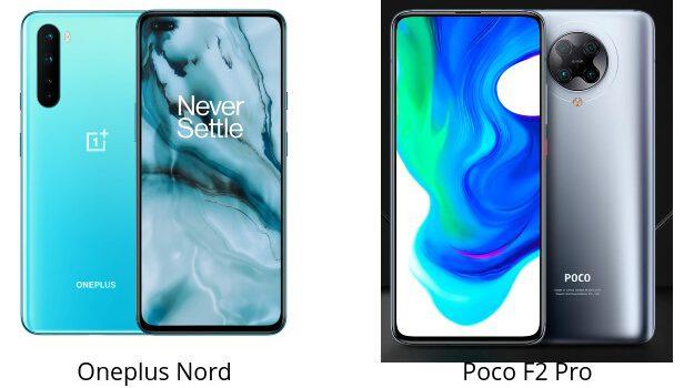 Oneplus Nord VS Poco F2 Pro comparativa, opinión, diferencias en pantalla, precio, batería, cámara, procesador y características