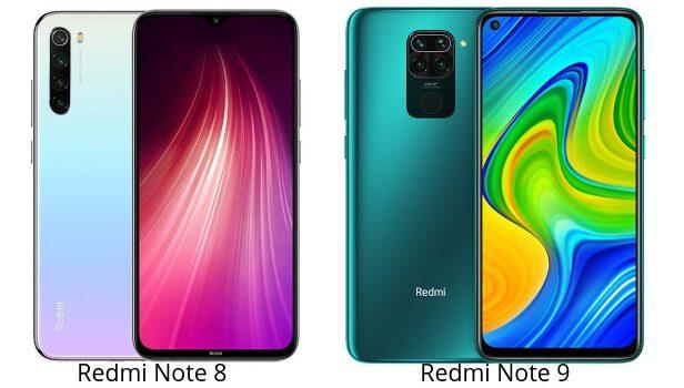 Redmi Note 8 vs Redmi Note 9 comparativa, opiniones, diferencias en precio, pantalla, procesador, batería, cámara, rendimiento y características