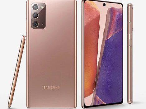¿Tiene el Samsung Note 20 conexión 5G o sólo tiene 4G?