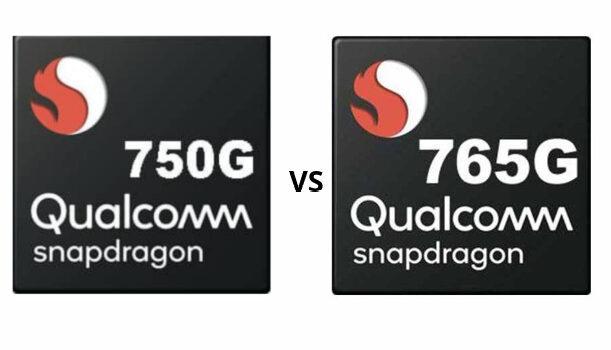 Snapdragon 750G vs Snapdragon 765G, comparar procesador Xiaomi Mi 10T Lite y Oneplus Nord, potencia, rendimiento, benchmarks Antutu