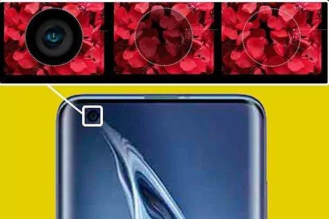 Moviles con camara bajo la pantalla de Xiaomi, Samsung, Realme, Oppo, ZTE, Motorola y otras marcas