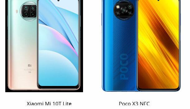 Xiaomi Mi 10T Lite VS Poco X3 NFC comparativa, opiniones, diferencias en precio, pantalla, cámara, procesador, batería, conectividad y características