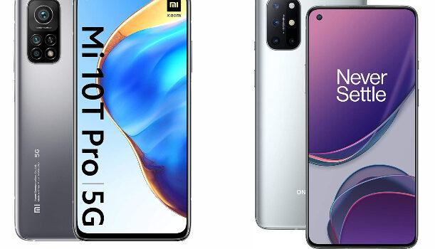 Mi 10T Pro vs Oneplus 8T comparativa, opiniones, precio, diferencias en pantalla, batería, cámara, diseño, conectividad y todas las características