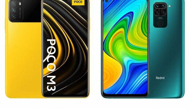 Poco M3 vs Redmi Note 9 comparativa, precio, opinión, diferencias en pantalla, cámara, batería, procesador, rendimiento y características