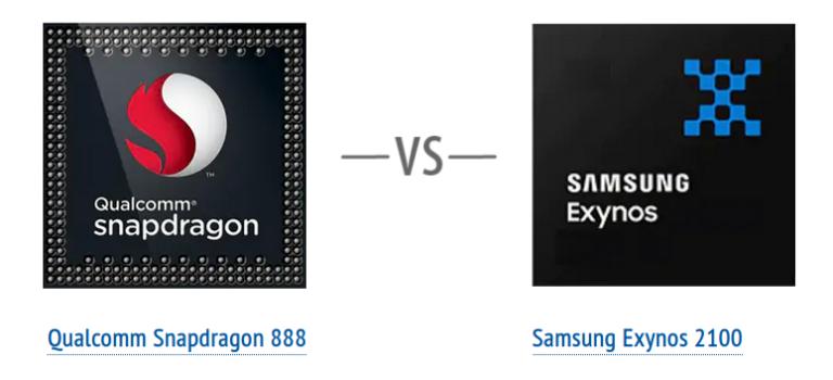 Snapdragon 888 vs Exynos 2100, procesador del Xiaomi Mi 11 vs Samsung S21 opinión, potencia, benchmarks, antutu, rendimiento, arquitectura, velocidad
