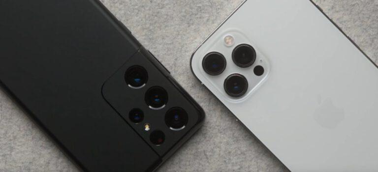 Samsung S21 Ultra vs iPhone 12 Pro Max cámaras, comparativa, test, opinión, diferencias en sensores, fotos, vídeos ¿Cual tiene mejor cámara?