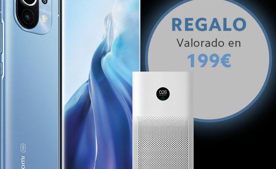 Como conseguir gratis el purificador de aire Xiaomi al comprar tu Xiaomi Mi 11, regalo del Mi Air Purifier 3H por valor de 200 euros