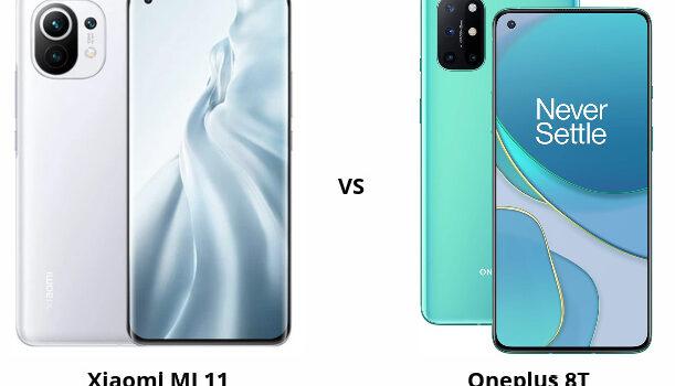 Xiaomi Mi 11 vs Oneplus 8T ¿Cual es mejor? ¿Cual comprar? Diferencias, opiniones, comparativa