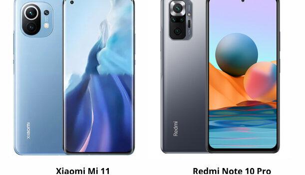 Diferencias Xiaomi Mi 11 vs Redmi Note 10 Pro en precio, cámara, pantalla, batería, procesador, rendimiento y nuestra opinión, cual es mejor comprar