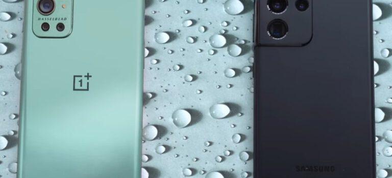 Oneplus 9 Pro vs Samsung Galaxy S21 Ultra comparativa, precio, opinión, diferencias, cámara, pantalla, batería, procesador, autonomía y características