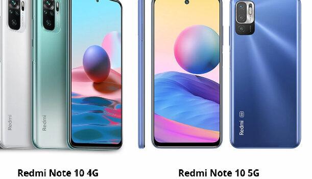 Redmi Note 10 4G vs Redmi Note 10 5G precio, diferencias, comparativa, opinión, cual es mejor comprar y características diferentes
